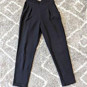 ⚡3/$30⚡Ripe Black cropped pants sz:S